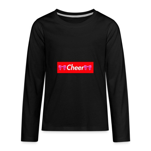 Cheer Merchandise - Kids' Premium Long Sleeve T-Shirt