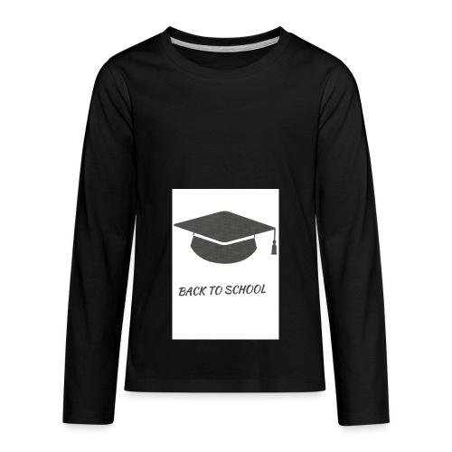 back to school - Kids' Premium Long Sleeve T-Shirt