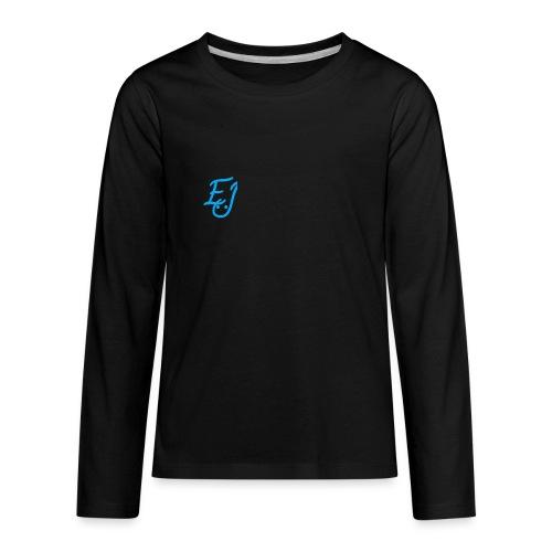youth EJ logo long sleeve shirt - Kids' Premium Long Sleeve T-Shirt
