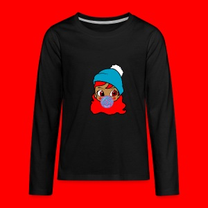 unbothered_girl - Kids' Premium Long Sleeve T-Shirt