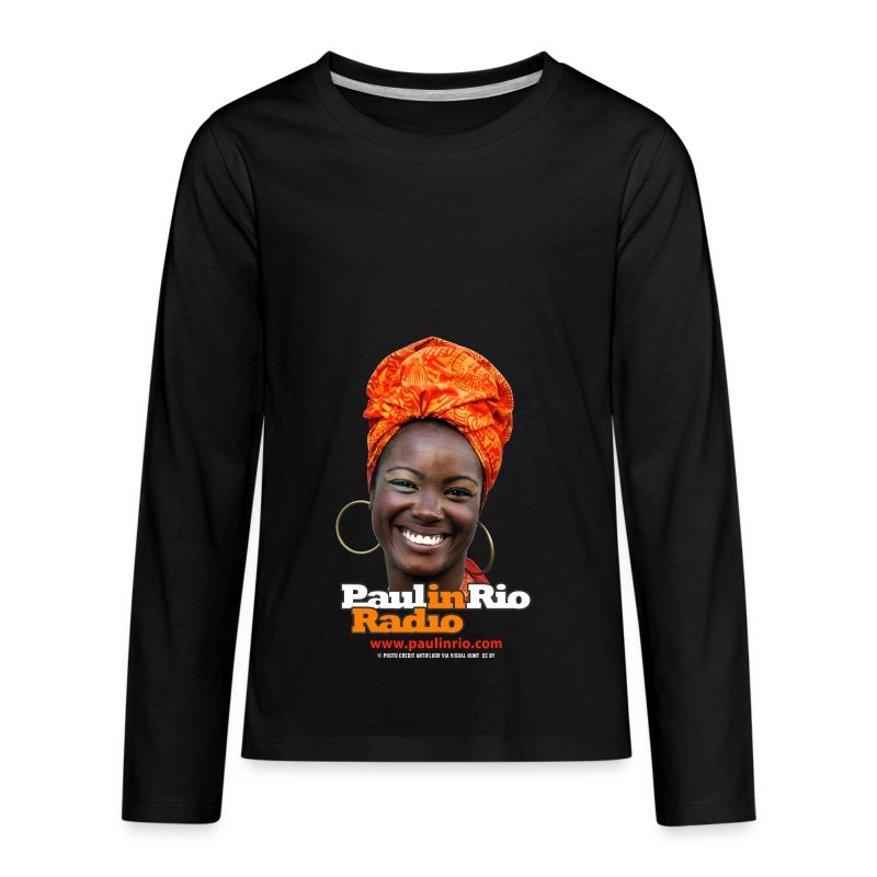 Paul in Rio Radio - Mágica garota - Kids' Premium Long Sleeve T-Shirt