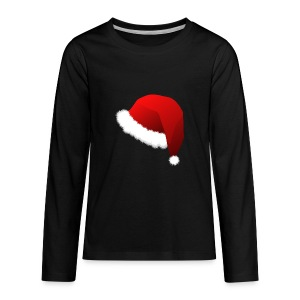 Carmaa Santa Hat Christmas Apparel - Kids' Premium Long Sleeve T-Shirt