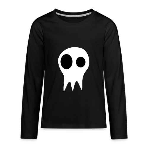 The Grims Skull Logo - Kids' Premium Long Sleeve T-Shirt