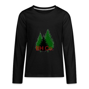 EVERGREEN LOGO - Kids' Premium Long Sleeve T-Shirt
