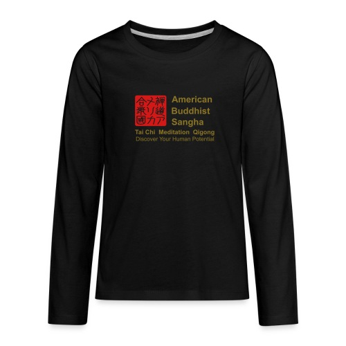 American Buddhist Sangha / Zen Do USA - Kids' Premium Long Sleeve T-Shirt