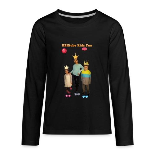 HZHtube Kids Fun T-Shirt - Kids' Premium Long Sleeve T-Shirt