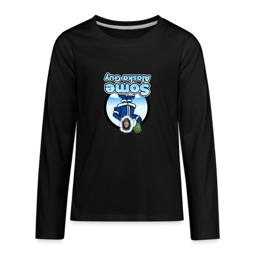 some alaska guy com icon logo 2 - Kids' Premium Long Sleeve T-Shirt