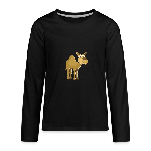 Camel - Kids' Premium Long Sleeve T-Shirt