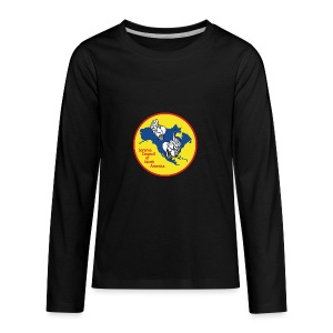 SCNA logo - Kids' Premium Long Sleeve T-Shirt