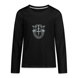 SF Crest - Kids' Premium Long Sleeve T-Shirt