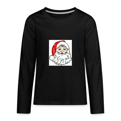 classic Santa - Kids' Premium Long Sleeve T-Shirt