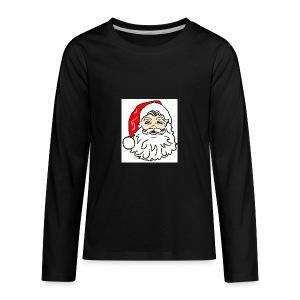 classic Santa - Kids' Premium Long Sleeve T-Shirt