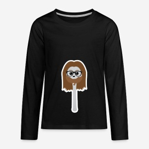 lepel mascotte - Kids' Premium Long Sleeve T-Shirt