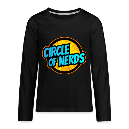 Circle of Nerds - Kids' Premium Long Sleeve T-Shirt