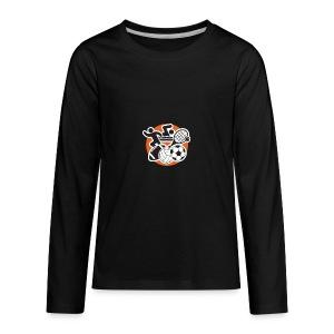 FallSportsIcon - Kids' Premium Long Sleeve T-Shirt