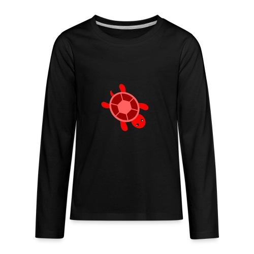 CrazyLittleRedTurtle! - Kids' Premium Long Sleeve T-Shirt