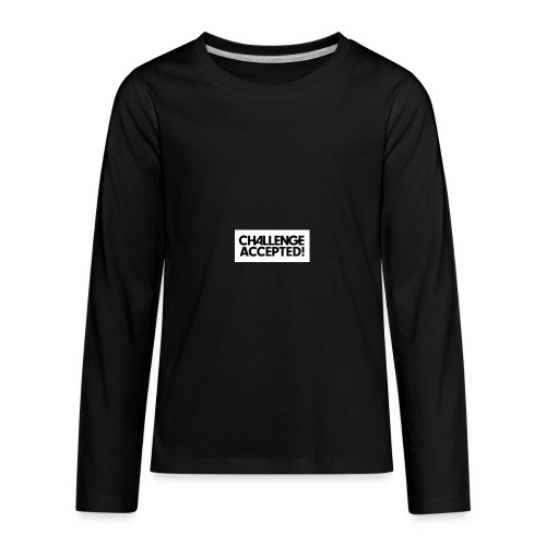 challenge - Kids' Premium Long Sleeve T-Shirt