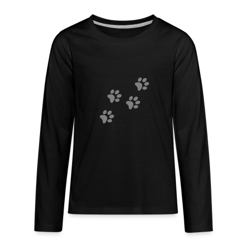 pawprints - Kids' Premium Long Sleeve T-Shirt