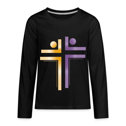 Deliverance International Logo - Kids' Premium Long Sleeve T-Shirt