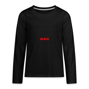 MCN Logo - Kids' Premium Long Sleeve T-Shirt
