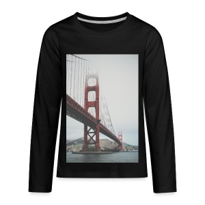 Golden Gate Bridge - Kids' Premium Long Sleeve T-Shirt