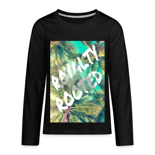 TROPICAL #1 - Kids' Premium Long Sleeve T-Shirt