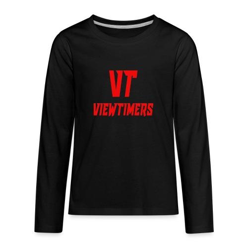 ViewTimers Merch - Kids' Premium Long Sleeve T-Shirt