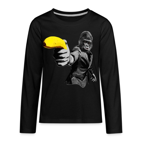 Officer Ape 001 - Kids' Premium Long Sleeve T-Shirt