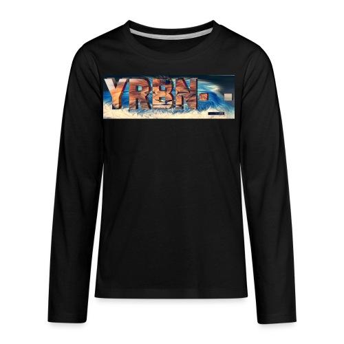 YRBN'S Merch - Kids' Premium Long Sleeve T-Shirt