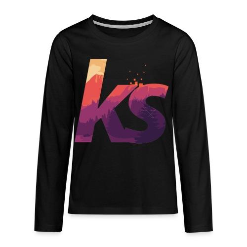 Khalil sheckler - Kids' Premium Long Sleeve T-Shirt
