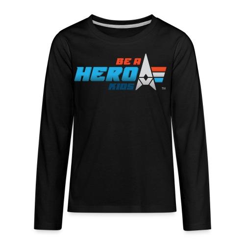 BHK primary full color stylized TM - Kids' Premium Long Sleeve T-Shirt