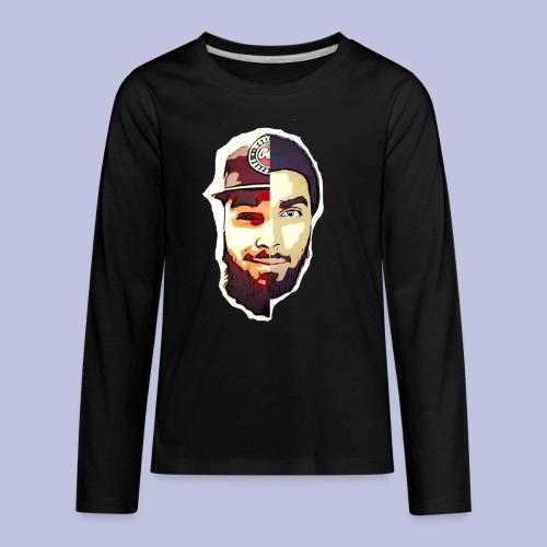 dlb face - Kids' Premium Long Sleeve T-Shirt