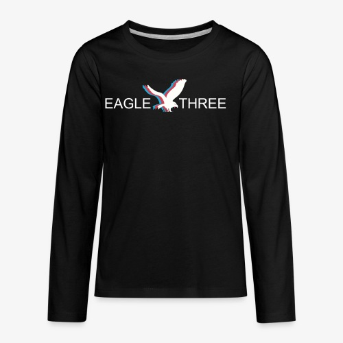 EAGLE THREE APPAREL - Kids' Premium Long Sleeve T-Shirt