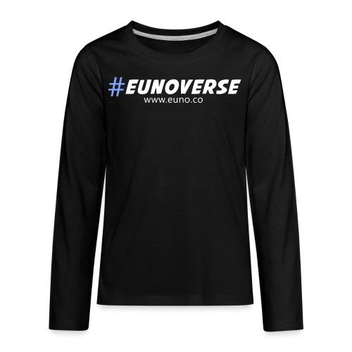 #Eunoverse Tag - Kids' Premium Long Sleeve T-Shirt