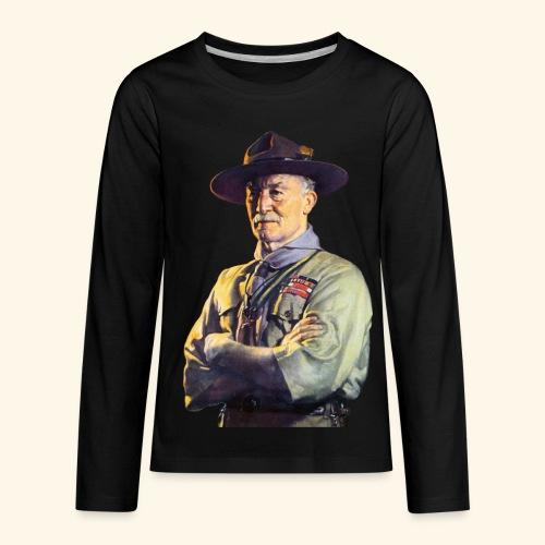 Robert Baden Powell - Kids' Premium Long Sleeve T-Shirt