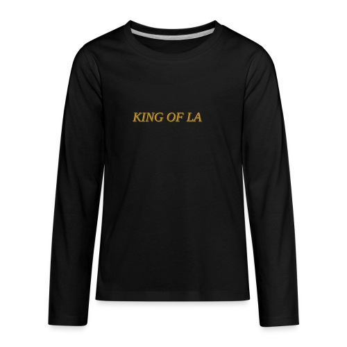 KIng of LA - Kids' Premium Long Sleeve T-Shirt