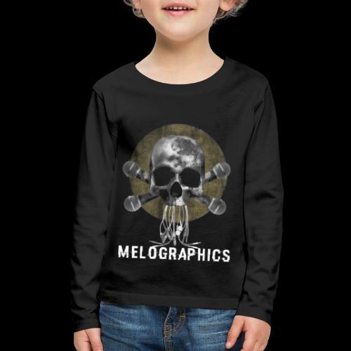 No Music Is Death - Kids' Premium Long Sleeve T-Shirt