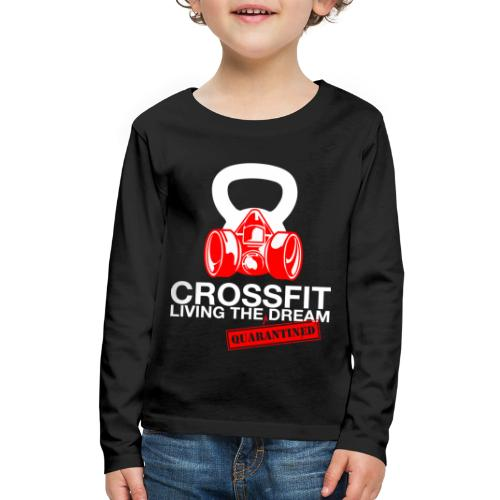 CROSSFIT LTQD - WHITE - Kids' Premium Long Sleeve T-Shirt