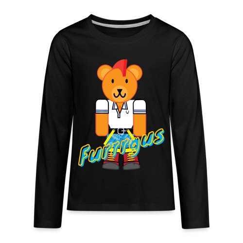 Skinhead Furrrgus - Kids' Premium Long Sleeve T-Shirt