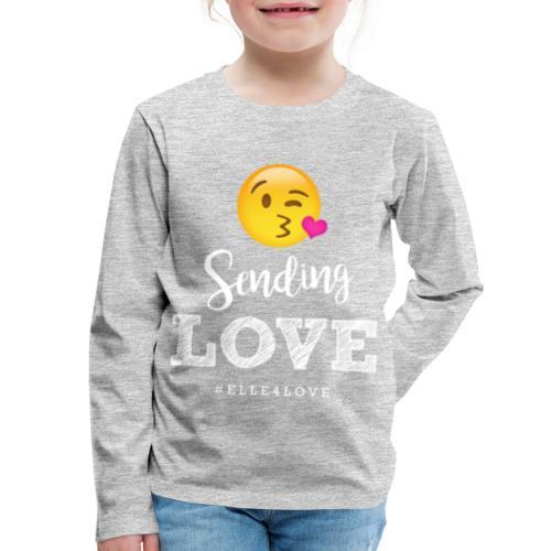 Sending Love - Kids' Premium Long Sleeve T-Shirt