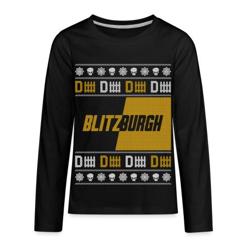 Blitzburgh - Kids' Premium Long Sleeve T-Shirt