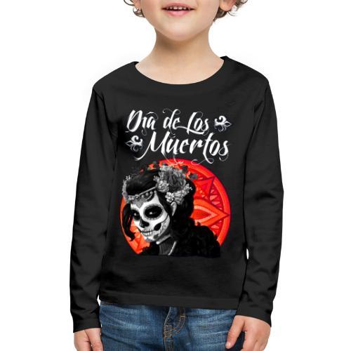 Dia de Los Muertos 01 - Kids' Premium Long Sleeve T-Shirt