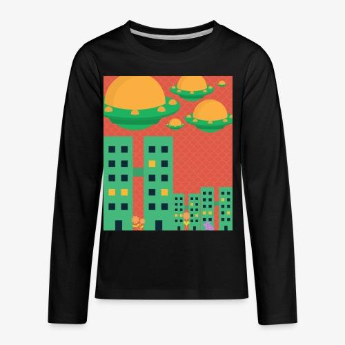 wierd stuff - Kids' Premium Long Sleeve T-Shirt