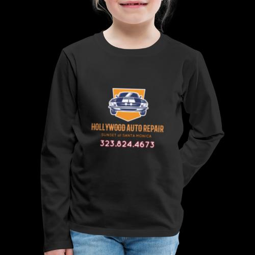 CLASSIC CARS! CLASSIC HOLLYWOOD! - Kids' Premium Long Sleeve T-Shirt
