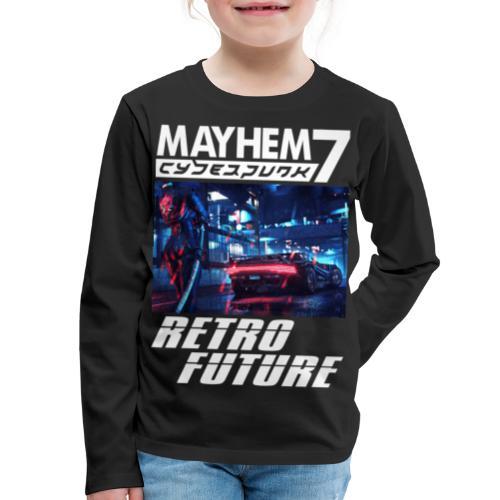 M7 Cyberpunk - Kids' Premium Long Sleeve T-Shirt