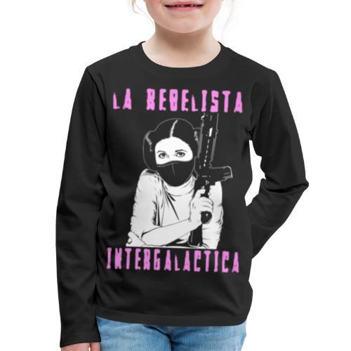 La Rebelista - Kids' Premium Long Sleeve T-Shirt