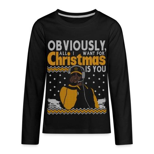 2018_all I want - Kids' Premium Long Sleeve T-Shirt