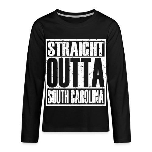 Straight Outta South Carolina - Kids' Premium Long Sleeve T-Shirt