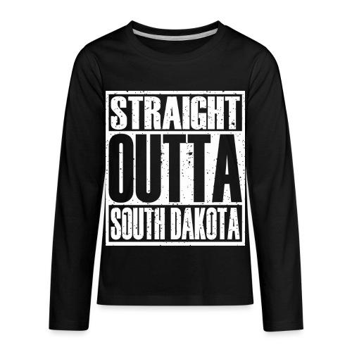 Straight Outta South Dakota - Kids' Premium Long Sleeve T-Shirt