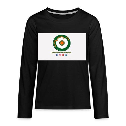 David Doyle Arts & Photography Logo - Kids' Premium Long Sleeve T-Shirt